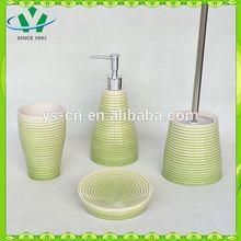 Traditional ceramic toliet brush holder