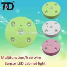 Batter powered 4 high brightness Sensor LED Night light