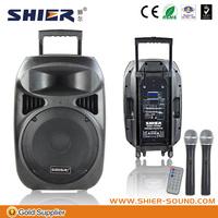 "12"" rechargeable battery built-in 90 w amplifier for best outdoor wireless bluetooth motorcycle speaker with 2 years warranty"