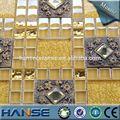R38 foshan. fournir or, résine arabesque color mix mosaïque