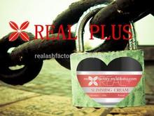 Body slimming cream skin tighten gel REAL PLUS Body slimming, firming, reduce weight, weight loss massage cream / body lotion