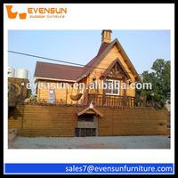 Garden Wooden House Prefab Indonesia