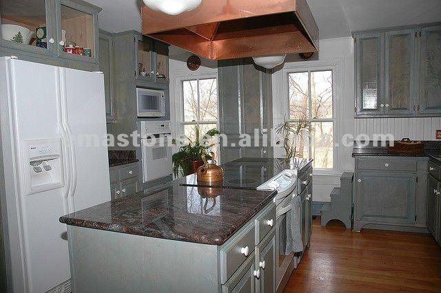 Pas cher paradiso comptoir de granit violet cuisine plan - Dessus de comptoir de cuisine pas cher ...