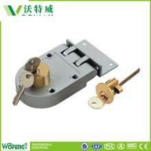 Aluminum universal high security door lock set
