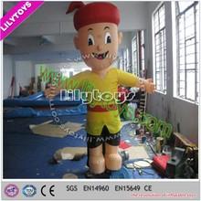 Lilytoys customized design inflatbale cartoon model, replica inflatables