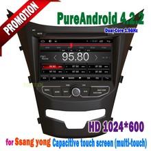 Ssangyong Korando 2013 2014 Navigation Car Dvd Media with Camera