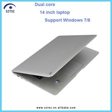 14 inch windows xp/7/8 laptop i5 4G RAM 500G HDD,super gaming laptop i5