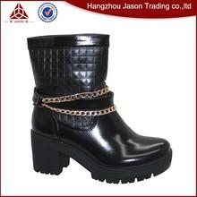 熱い販売最高の品質のファッションブーツ黒ゴシック