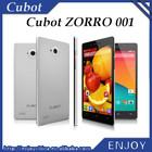 Original Cubot ZORRO 001 Phone LTE FDD 4G Android 4.4 Phone Qualcomm Snapdragon MSM8916 Quad Core 1.2Ghz 1GB RAM 8GB ROM