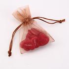 personalized drawstring candy organza bag