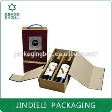 fancy cardboard wine box foldable package