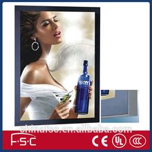 Advertising Poster Slim Aluminum Magnetic Frame