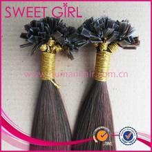 22 inch virgin 100 percent remy human indian flat tip hair