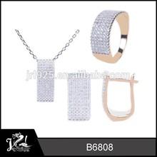 moda e design exclusivo de ouro grosso chapeado jóias réplica em dubai