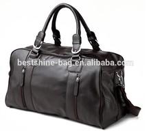 2015 china supplier men leather travel bag