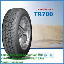 Chinese Car Tire Manufacturer Mini Van Tire
