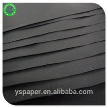 Professional manufactures of black paper board/black cardboard