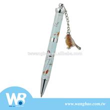 Cute animal mini twisted metal ball pen