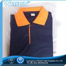 plain dyed new style stripes polo shirts custom your artwork