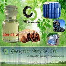 food grade CAS#104-55-2 Cinnamic aldehyde