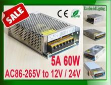 led adapter 220v to 12v 5a 60W power supply