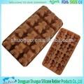 molde de chocolate personalizado que hace de chocolate de silicona del molde de la fábrica