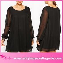New Design Wholesale Plus Size Mini sexy bare back evening dress