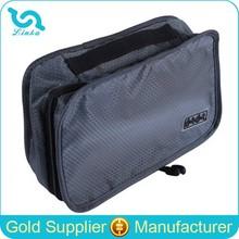 Honeycomb Nylon Travel Organizer, Travel Toiletry Bag With Hanger Inside