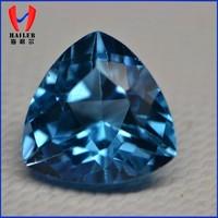 8*8mm magic trillion shape gem topaz price