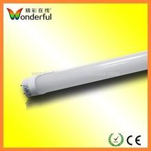 Aluminum Alloy+ PC Material Milky Cover LED Tube High Luminous Flux