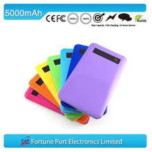 mobile accessories 2015 New year gift 5000 mah power bank