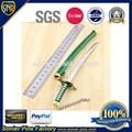 Presentes requintados custom forma metal espada Samurai espada