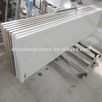 kkr custom white Repair upper quartz countertops
