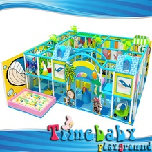 HSZ-KTBA105 Residential indoor playground equipment, kids playground houses