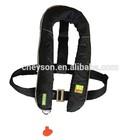 Latest Newly Fashionable Black Inflatable Life Jacket