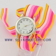 Stylish festivel item ladies ribbon watch interchangeable band wholesale