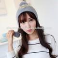 2015 caliente de la venta del invierno de la gorrita tejida sombreros y gorras / sombrero del ganchillo patrones para las niñas / Made In China