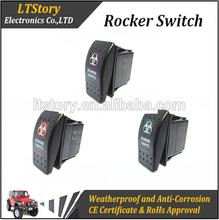 Waterproof rocker switch