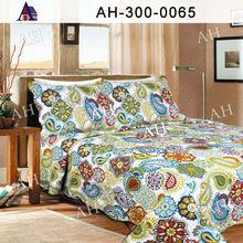 3pcs Cotton Fat Quarter Quilt Batting Patchwork Bed Cover