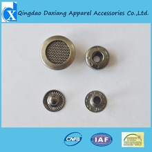 2012 hot selling High quantity custom metal button snaps for leather