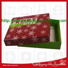 40 years experiences to produce high quality paper custom printed gift box