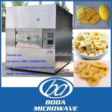 Industrial microwave vacuum dryer of mango chip