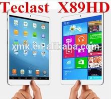 100% NEW Original Teclast X89HD Trail-T 64-bit Tablet PC 7.9 inch Retina Screen 2048X1536 GPS 2GB/32GB Windows/Android Dual OS