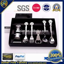 Stainless steel Smile Spoon set for souvenir