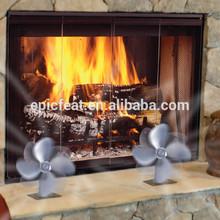 ultraligero de ahorro de energía de calor alimentado de la estufa de madera ventilador