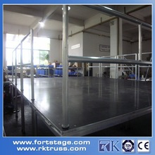 Aluminum Folding Outdoor Stage/Modular School Adjustable Stage/Fashion Show Portable Stage