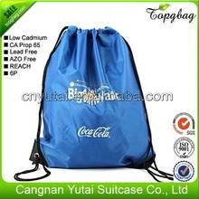 Alibaba china promotional woman drawstring bag