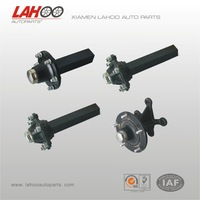 Light Trailer Parts Use and Trailer Axles Parts Hubs
