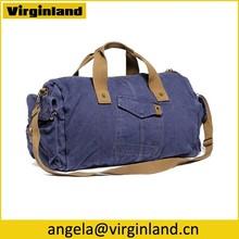 6008 Durable Portable Foldable Canvas Clothes Bag For Travel Storage Bag fit Shoes