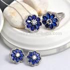 Blue Spinel Jewelry Fashion Jewelry Zircon Jewelry Set